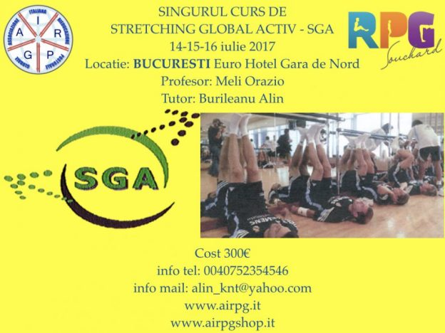 CURS STRETCHING GLOBAL ACTIV – SGA BUCURESTI